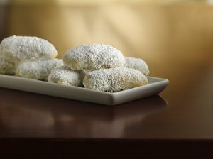 lemon wedding cookies